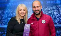 Pep Guardiola nhận giải HLV hay nhất Ngoại hạng Anh ba tháng liền