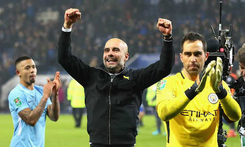 Guardiola bác bỏ khả năng Man City sẽ giành mọi danh hiệu trong mùa này
