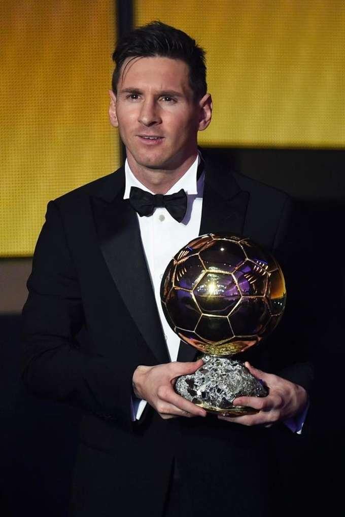 Messi đang giữ kỷ lục năm lần giành Quả Bóng Vàng