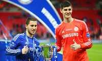 """Antonio Conte: """"Chelsea cần phải gấp rút gia hạn hợp đồng với Courtois và Hazard."""