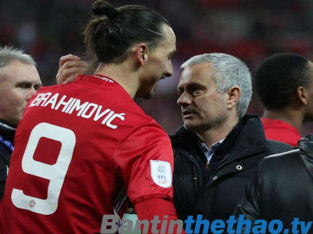 Ibrahimovic sẽ đá chính trong trận đấu với Man City sắp tới?