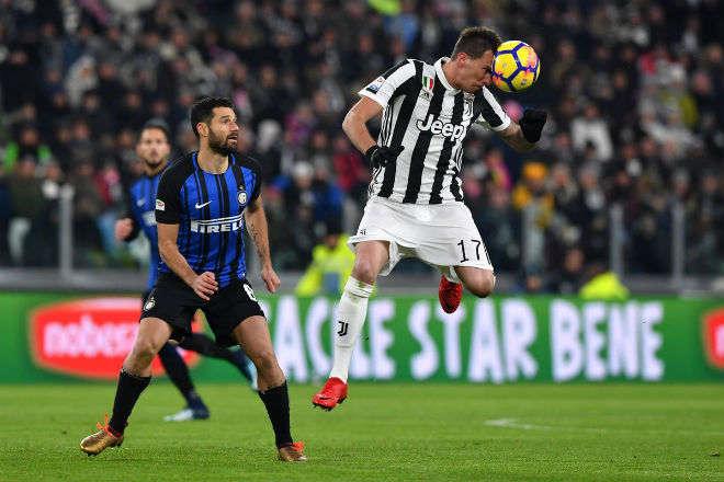 Juventus bị Inter cầm chân trên sân nhà