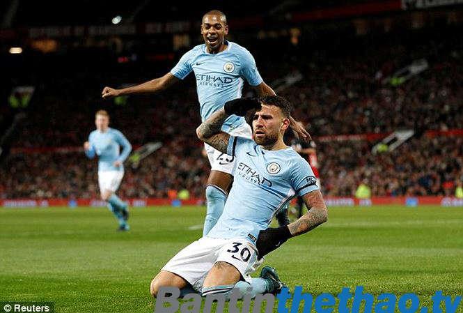 Man City đã thể hiện được bản lĩnh của một nhà vô địch trước Man United