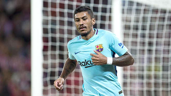 Paulinho đang chơi rất ấn tượng ở sân Camp Nou