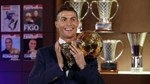 Ronaldo muốn giành được 7 Quả Bóng Vàng