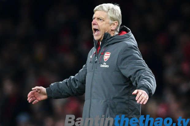 Wenger cho rằng Arsenal sẽ không thể vô địch Premier League năm nay