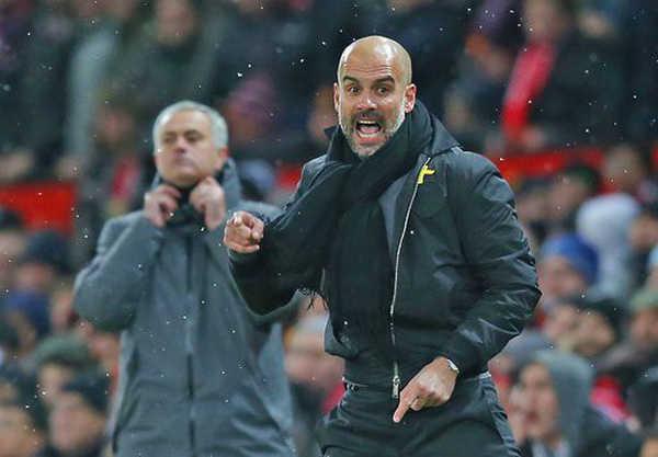 "Guardiola khen Chelsea, Tottenham để ""dìm"" Mourinho"