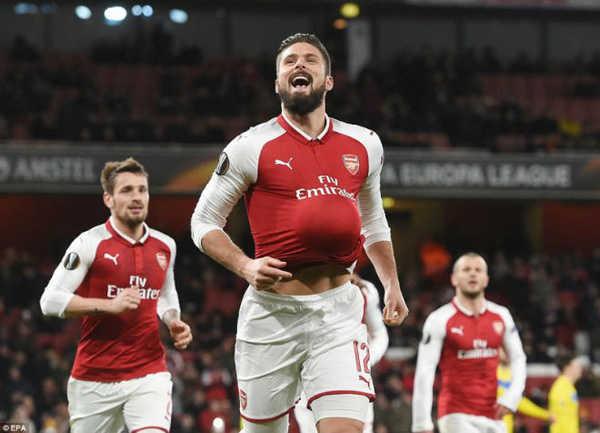 "Kết quả bốc thăm vòng 1/16 Europa League: Arsenal ""dễ thở"" ở vòng 1/16 Europa League"