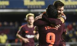 Messi, Suarez tỏa sáng, Barca gia tăng cách biệt ở La Liga