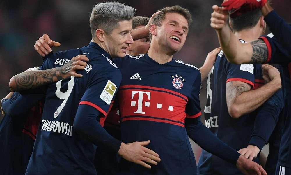 Bayern đang thể hiện sức mạnh tuyệt đối tại Bundesliga