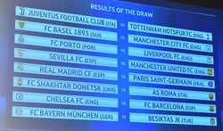 Bốc thăm vòng 1/8 Cup C1: Real chiến PSG, Chelsea đụng Barca