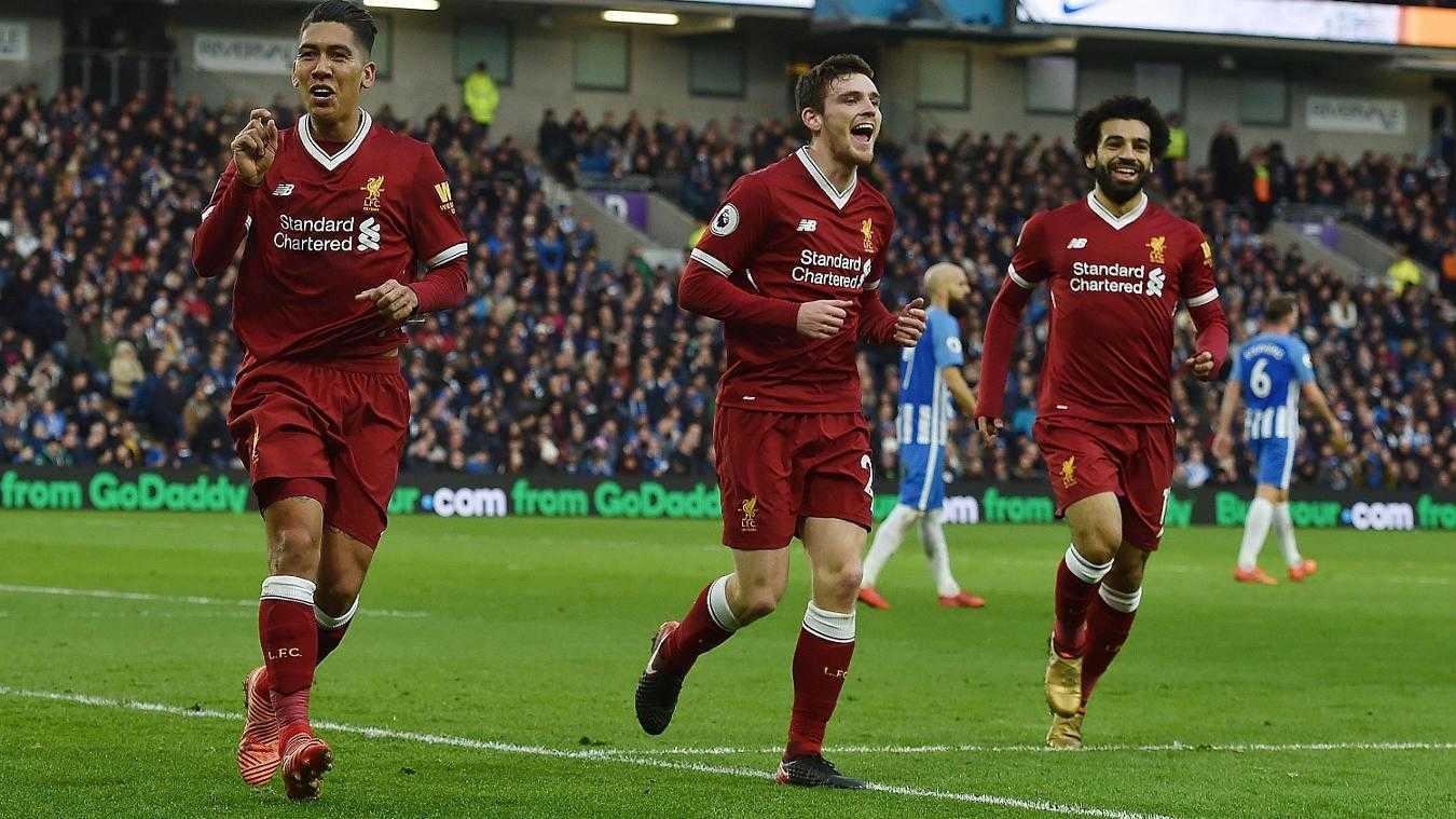 Đè bẹp Brighton, Liverpool chen chân vào top 4
