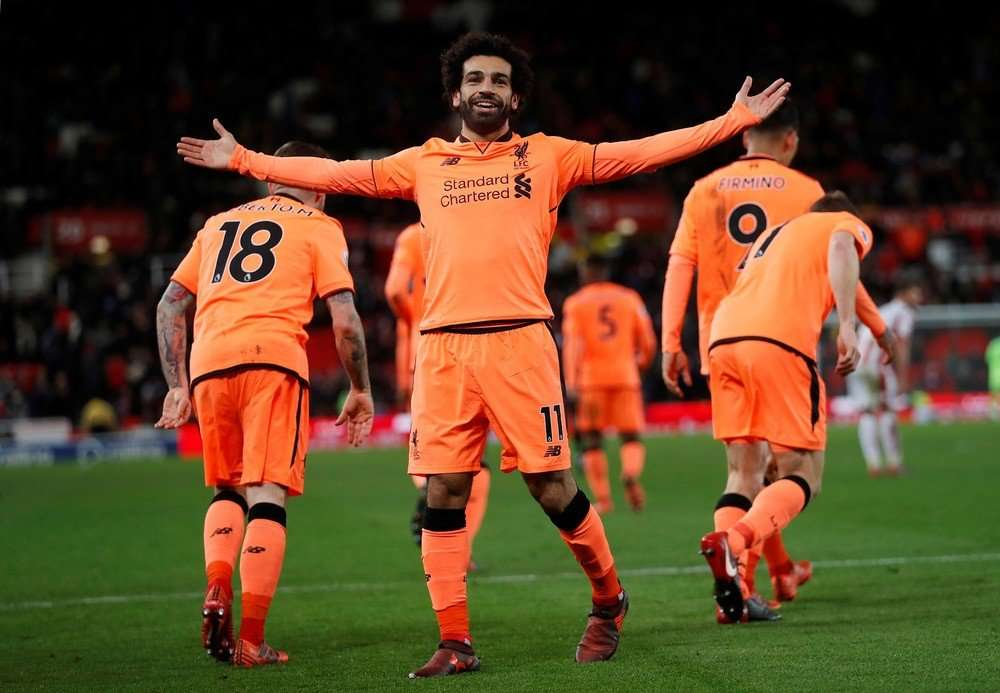 Mohamed Salah đang có phong độ tốt