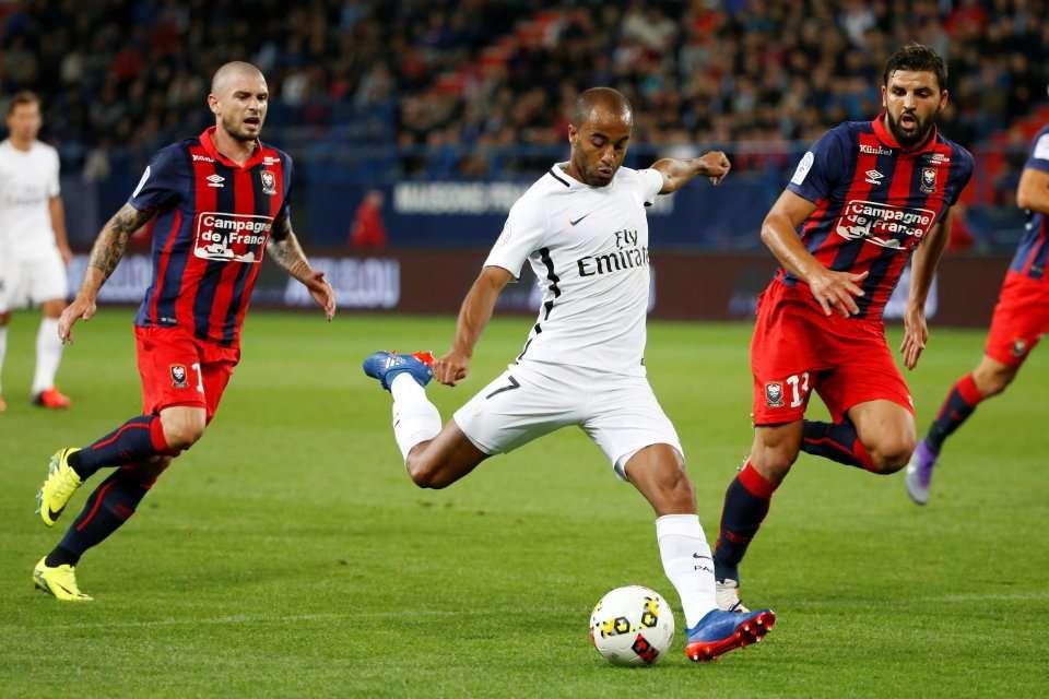 Caen thường yếu bóng vía khi chạm trán PSG