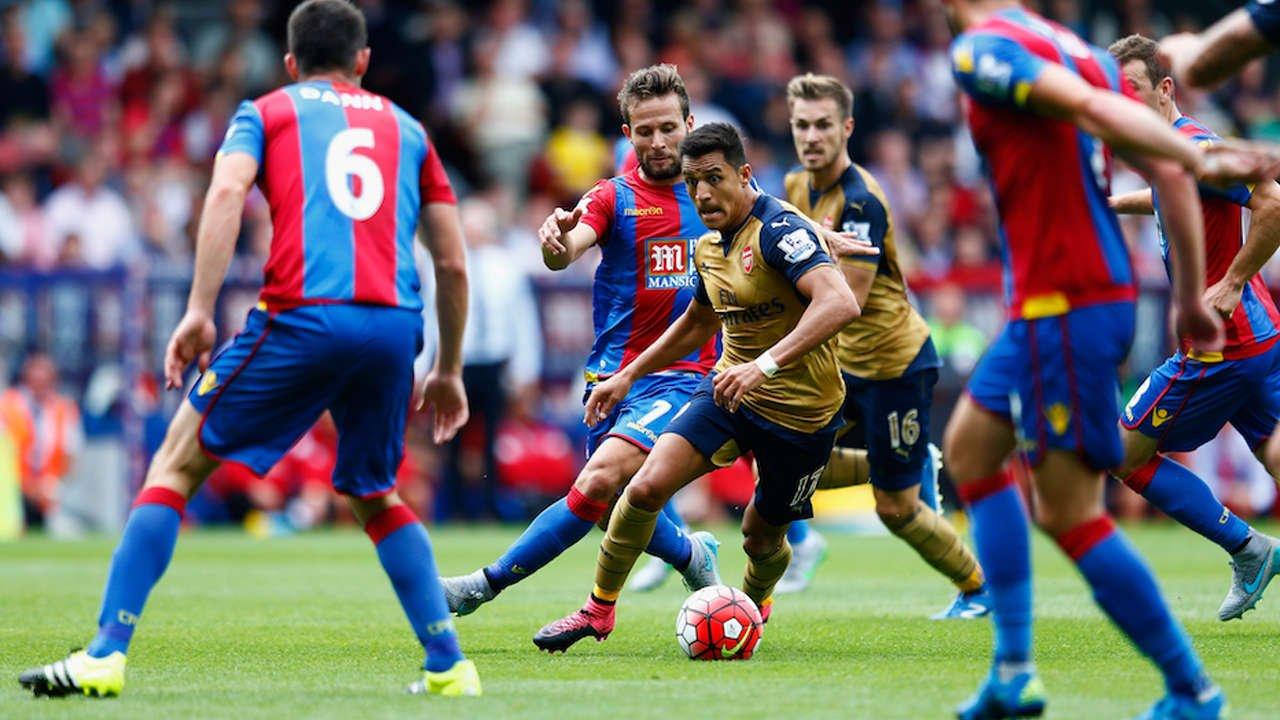 Arsenal có cơ hội đánh bại Crystal Palace