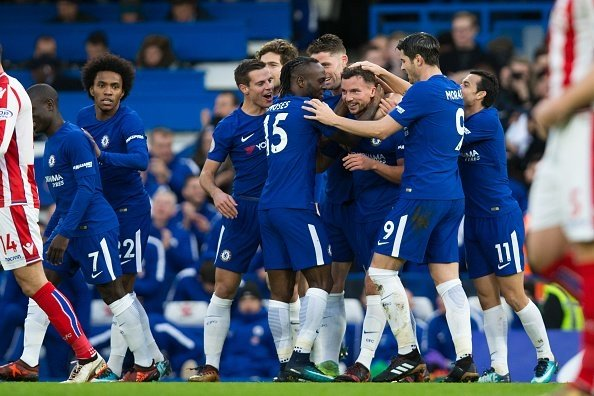 Chiến thắng tưng bừng trong ngày cuối năm cho Chelsea.