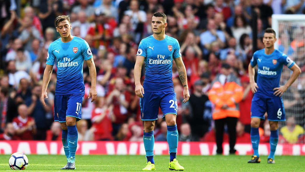 Arsenal chưa có được phong độ tốt nhất ở Premier League