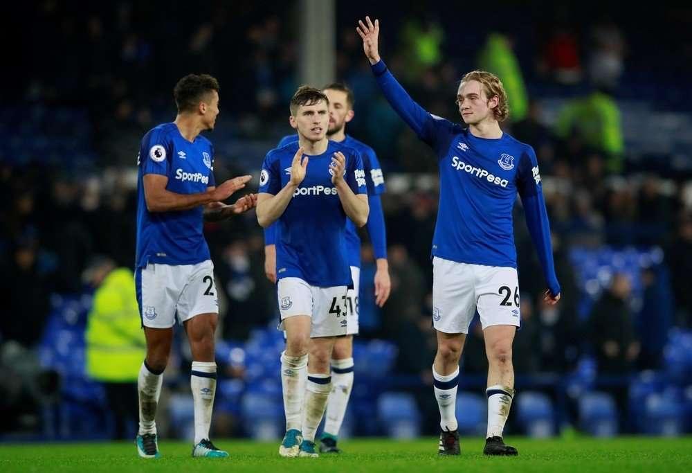 Everton đang có phong độ tốt