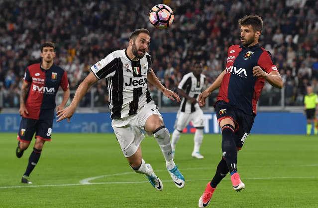 Genoa thường có kết quả không tốt trên sân Juventus