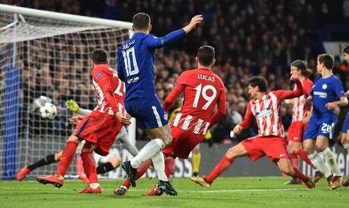 Hazard vui mừng dù chỉ có một điểm trước Atletico