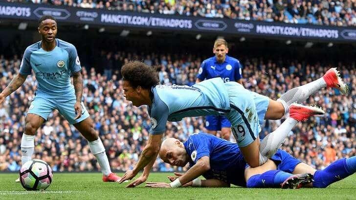 Man City đang có 16 trận thắng ở Premier League