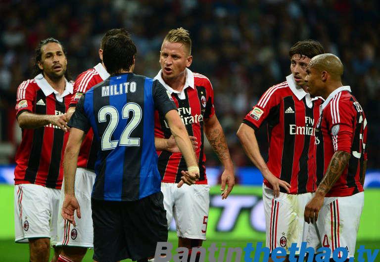AC Milan vs Inter Milan đêm nay 28/12/2017 Coppa Italia