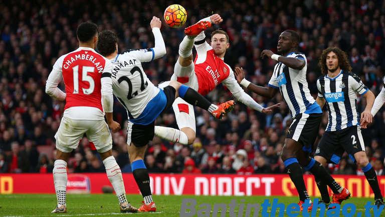 Arsenal vs Newcastle tối nay 16/12/2017 Ngoại Hạng Anh