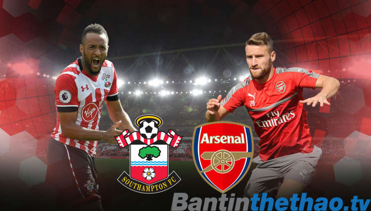 Arsenal vs Southampton hôm nay 10/12/2017