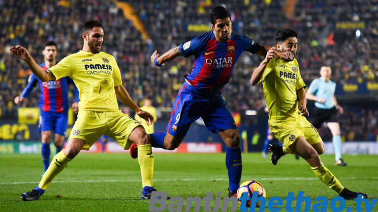 Barca vs Villarreal đêm nay 11/12/2017