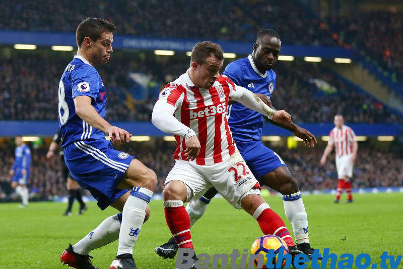 Chelsea vs Stoke City tối nay 30/12/2017 Ngoại Hạng Anh