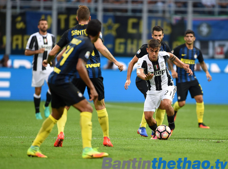 Juve vs Inter đêm nay 10/12/2017 VĐQG Italia Ý