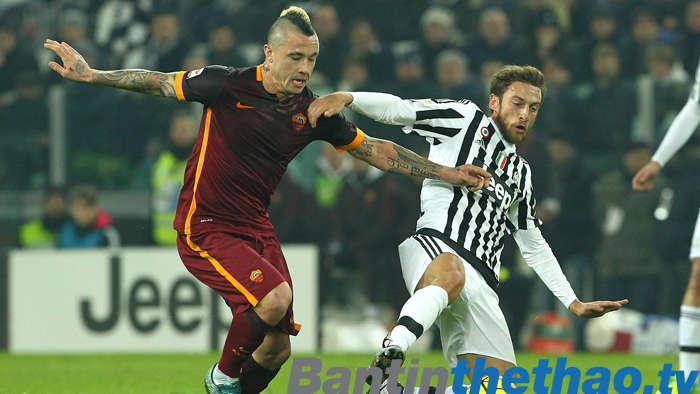 Juve vs Roma đêm nay 24/12/2017 VĐQG Italia Ý - Serie A