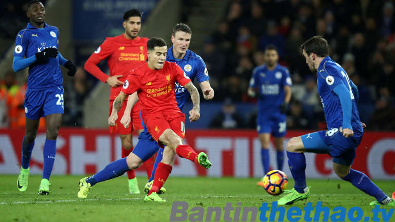 Liverpool vs Leicester City hôm nay 30/12/2017 Ngoại Hạng Anh