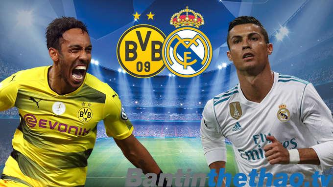 Real vs Dortmund hôm nay 7/12/2017