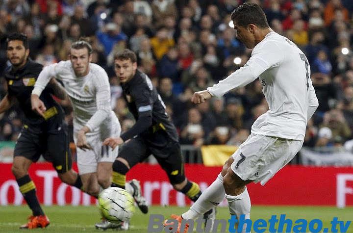 Real vs Sevilla tối nay 9/12/2017