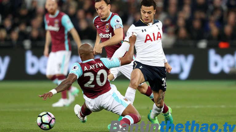 Tottenham vs West Ham tối nay 30/12/2017 Ngoại Hạng Anh