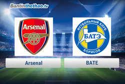 Link xem trực tiếp, link sopcast Arsenal vs BATE đêm nay 8/12/2017 Europa League