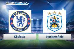 Link xem trực tiếp, link sopcast Chelsea vs Huddersfield đêm nay 13/12/2017 Ngoại Hạng Anh