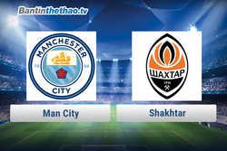 Link xem trực tiếp, link sopcast Man City vs Shakhtar hôm nay 7/12/2017 Champions League