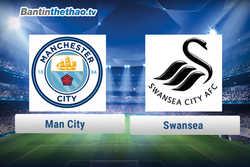 Link xem trực tiếp, link sopcast Man City vs Swansea đêm nay 14/12/2017 Ngoại Hạng Anh