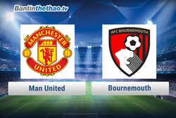 Link xem trực tiếp, link sopcast MU vs Bournemouth đêm nay 13/12/2017 Ngoại Hạng Anh