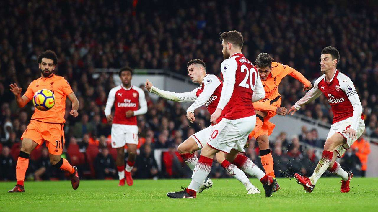Liverpool vừa hòa Arsenal 3-3