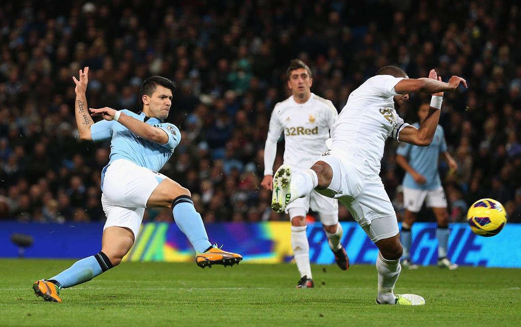 Swansea khó cản được Man City