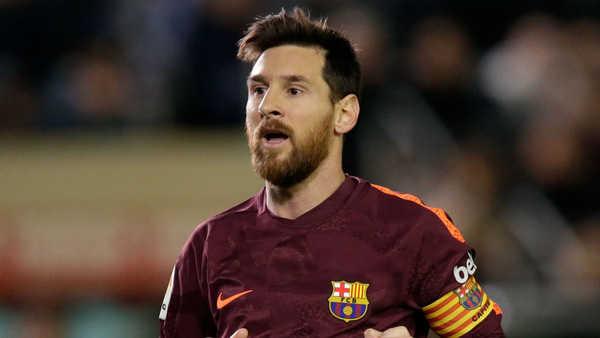 Cuộc đua Chiếc giày vàng châu Âu: Messi xếp thứ 5