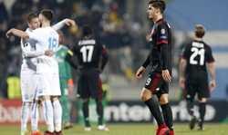 Sau trận hòa, Gattuso nhận thất bại đầu tiên ở Milan