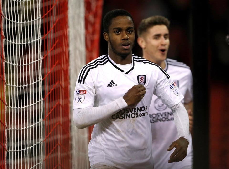 Sessegnon thi đấu nổi bật trong màu áo Fulham