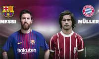 Messi san bằng kỷ lục tồn tại gần 40 năm của huyền thoại Muller