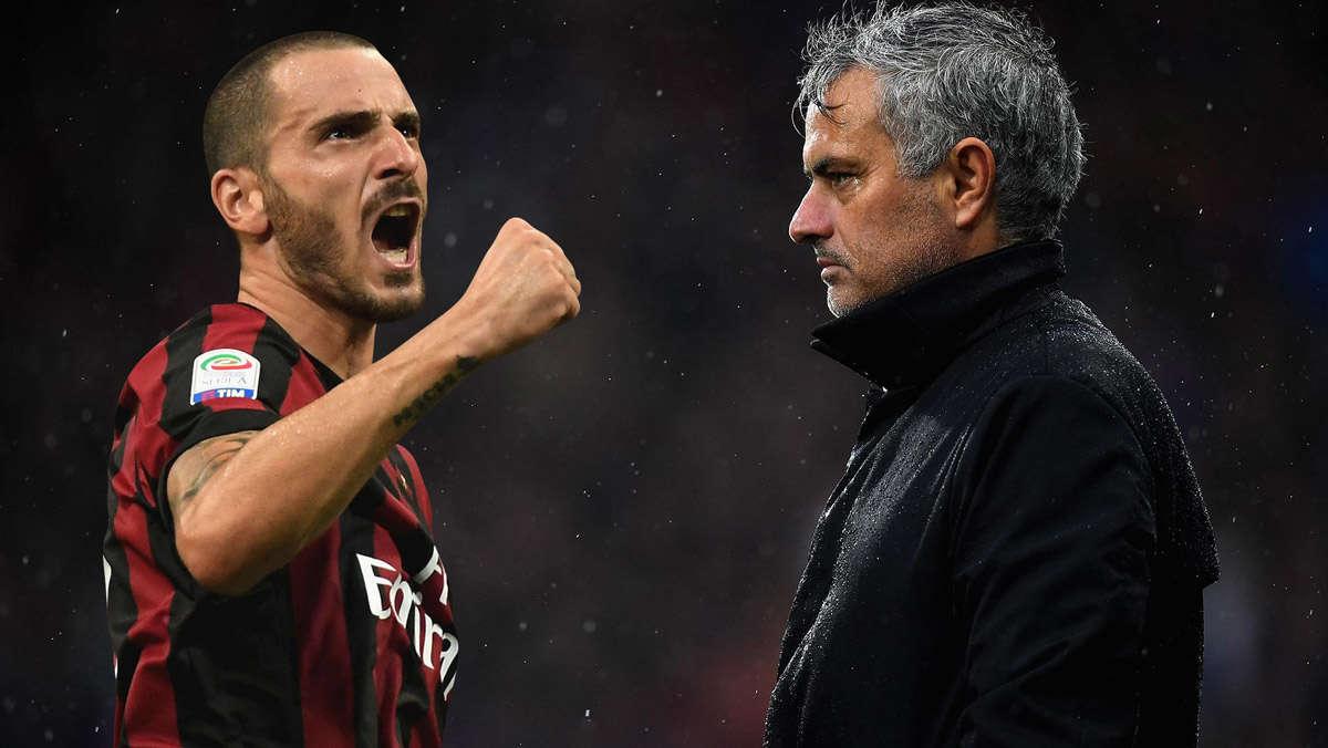 Bonucci là mục tiêu mà Mourinho muốn đưa về MU
