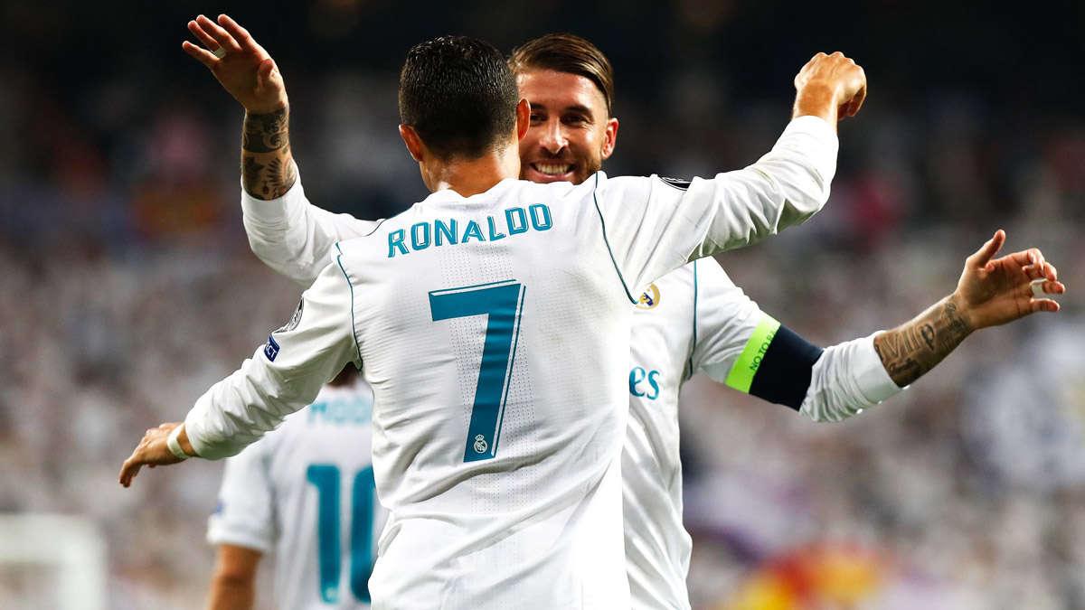 Ramos và Ronaldo làm lành, để cùng Real Madrid vượt khó