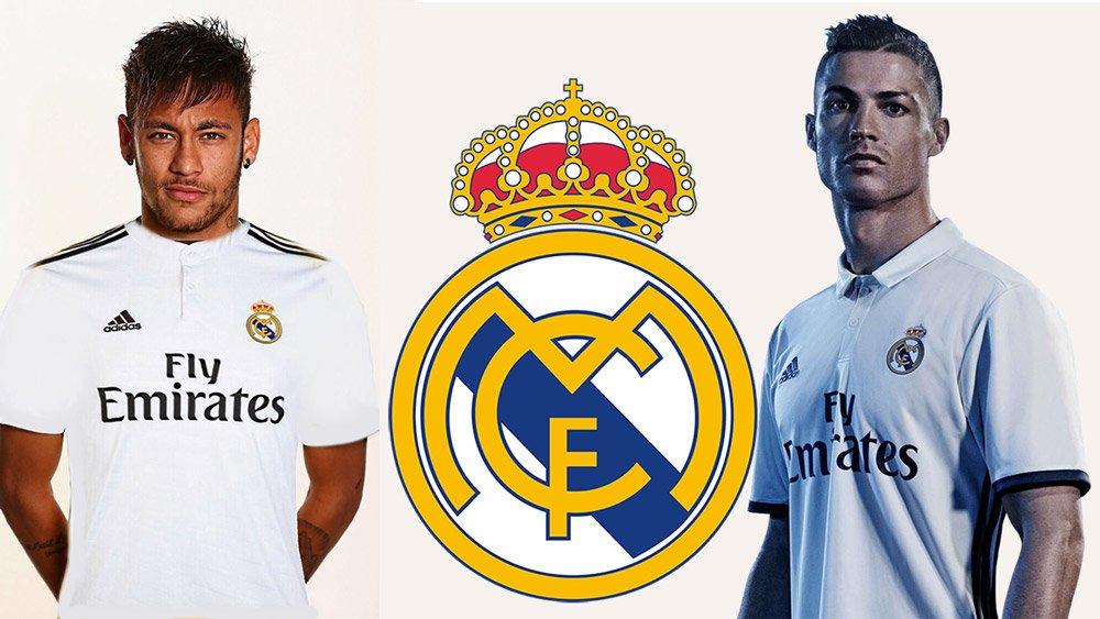 Neymar muốn thay Ronaldo trở thànhbiểu tượngmới của Real